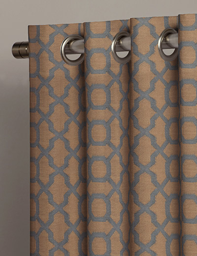 Buy Geo Jacquard Copper Fabric By The Metre Next Made