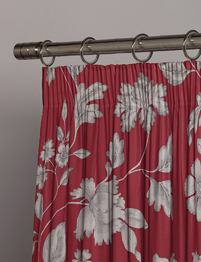 curtain rievaulx rosebloom next made to measure. Black Bedroom Furniture Sets. Home Design Ideas