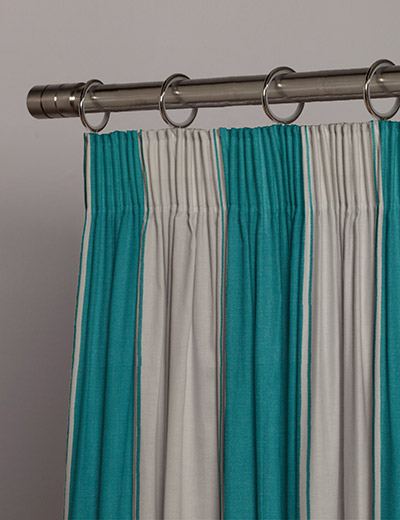 Curtain splendid teal next made to measure