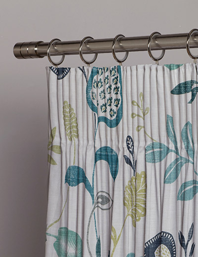 curtain details for honduras teal navy next made to measure