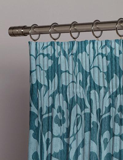 curtain details for avis teal next made to measure. Black Bedroom Furniture Sets. Home Design Ideas
