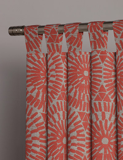 Curtain Leon Coral Next Made To Measure