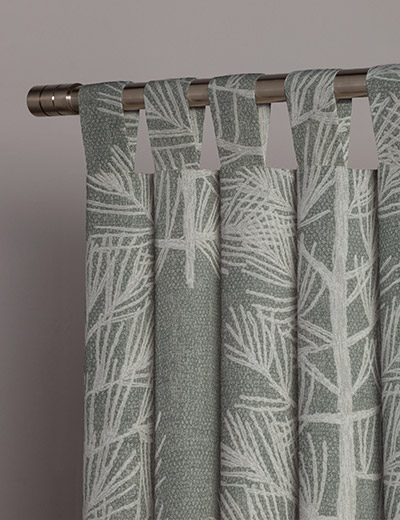 Curtain Tree Print, Natural | Next Made To Measure