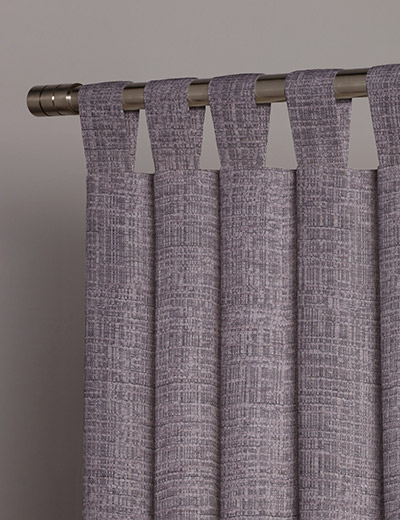 curtain details for textured chenille mauve next made. Black Bedroom Furniture Sets. Home Design Ideas