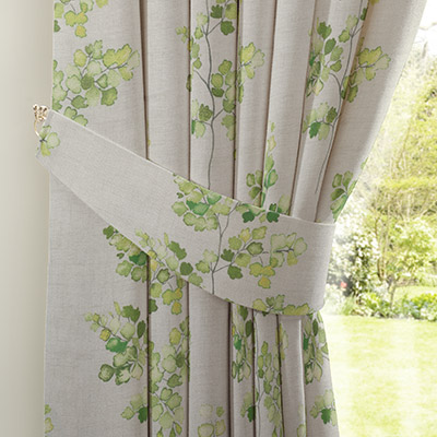 Curtain Country Sprig Green