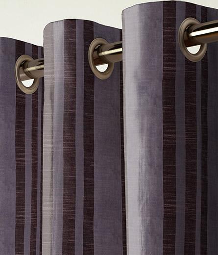 Curtain Plush Velvet Stripe Mauve Next Made To Measure