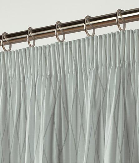 Curtain Raised Geo Silver