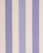 New patchwork stripe, Natural/cornflower