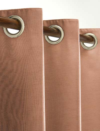 Curtain details for SIKKIM, SALMON | Curtain Express