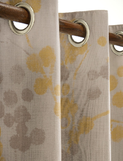 Curtain Details For Elissia Ochre Next Made To Measure