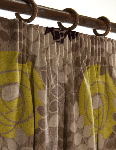 Curtains   on Curtain Details For Marilyn  Damson Lime   Wallpaperdirect