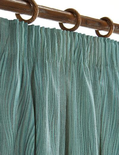Curtain Details For Metallic Wave Dark Teal Next Made