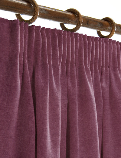 curtain details for soft velour grape next made to measure. Black Bedroom Furniture Sets. Home Design Ideas
