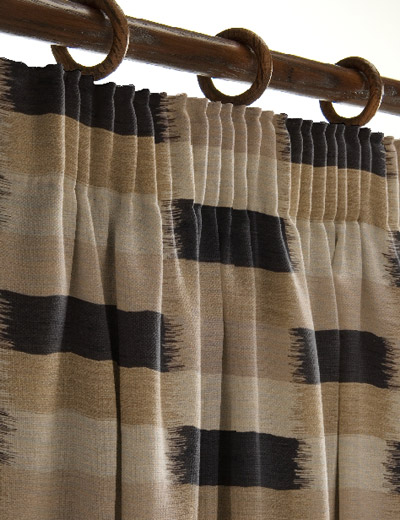 curtain details for braque noir next made to measure. Black Bedroom Furniture Sets. Home Design Ideas