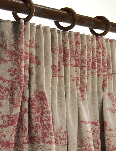 curtain details for provence rosso next made to measure. Black Bedroom Furniture Sets. Home Design Ideas
