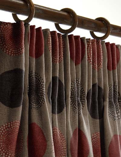 Hookless Fabric Shower Curtain With Snap Liner Chocolate and Tan Curtains