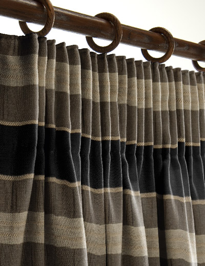 curtain details for nisa black gold curtain express