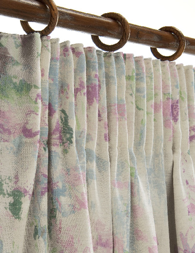 curtain details for watercolour print multi next made. Black Bedroom Furniture Sets. Home Design Ideas