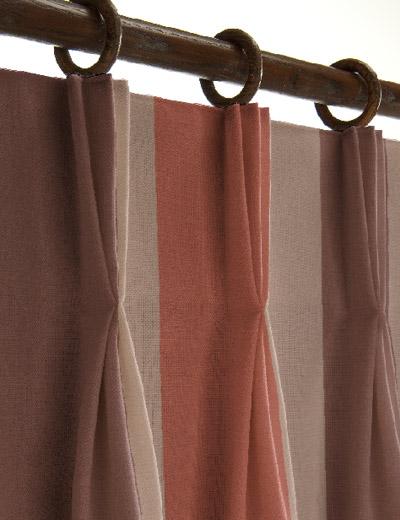 Curtain details for palavas burnt orange curtain express - Orange and brown curtains ...