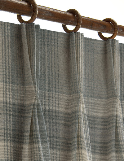 Curtain Decor Ideas For Living Room: Curtain Details For COSY CHECK, MINK