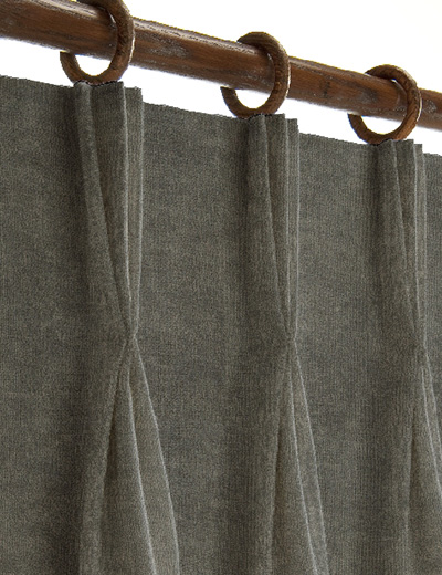 curtain details for soft velour french grey next made. Black Bedroom Furniture Sets. Home Design Ideas