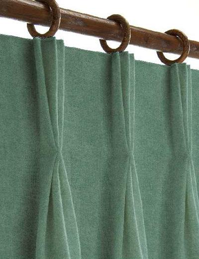 Curtain details for CALVARI, 53 JADE   Curtain Express