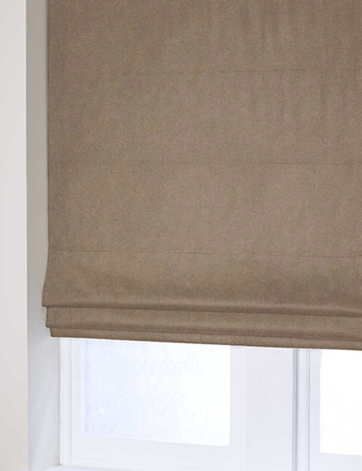 Curtain Faux Suede Coffee Next Made To Measure