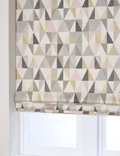 Curtain Tri Geo Blush Next Made To Measure