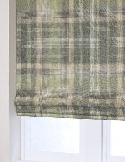 Blind Woven Check Milton Green Next Made To Measure