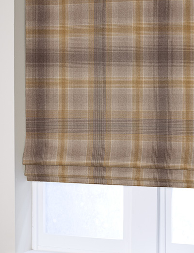 Buy Cosy Check Ochre Fabric By The Metre Next Made To