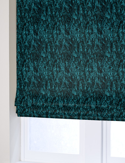 Curtain Crushed Velvet Dark Teal Next Made To Measure