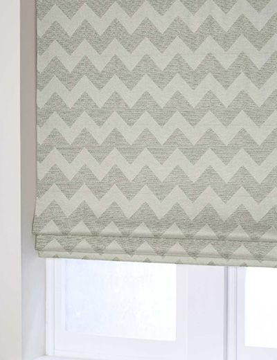 Curtain Plush Chenille Zig Zag Natural Next Made To Measure