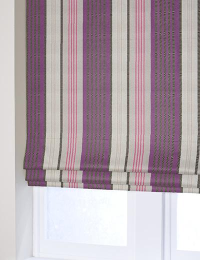 Blind Details For Opulent Satin Stripe Purple Next Made