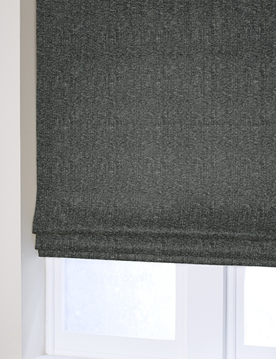 Curtain Textured Chenille Charcoal French Grey Next