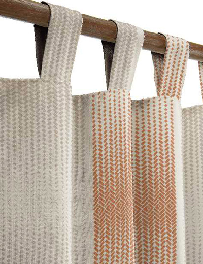 Curtain details for TUSSOCK, CINNAMON   Curtain Express