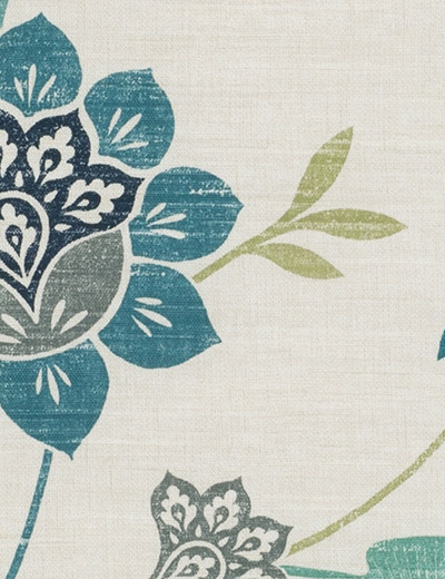 Buy Honduras Teal Navy Fabric By The Metre Next Made To