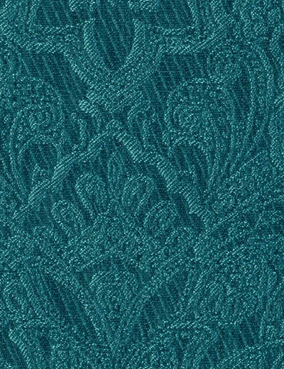 Buy Damask Jacquard Teal Fabric By The Metre Next Made