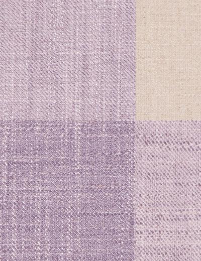 Buy Cosy Herringbone Check Mauve Fabric By The Metre
