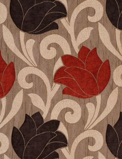 Red Curtains beige red curtains : Curtain Lucille, Red/brown | Next Made To Measure