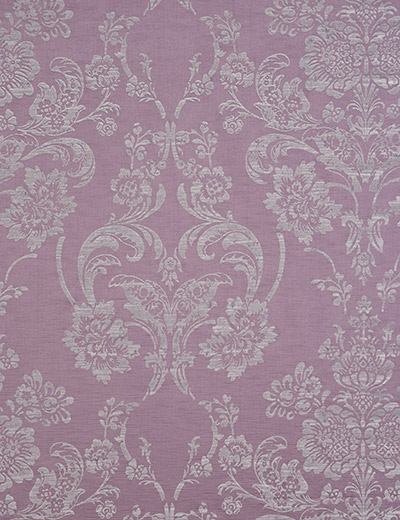 Curtain Luxe Metallic Damask Mauve Next Made To Measure