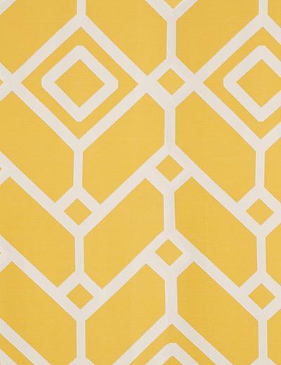 Curtain Lattice Geo Yellow Next Made To Measure