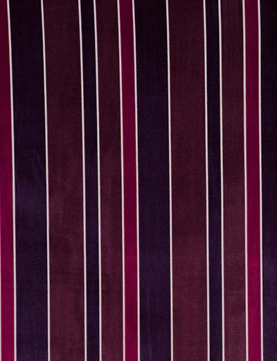 Curtain Details For Luxury Velvet Stripe Plum Next Made To Measure