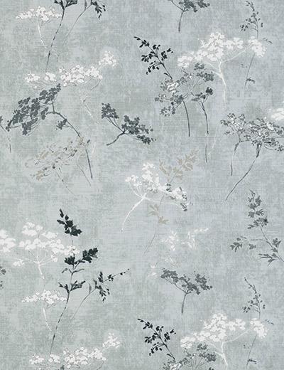 Cow Parsley Print Grey