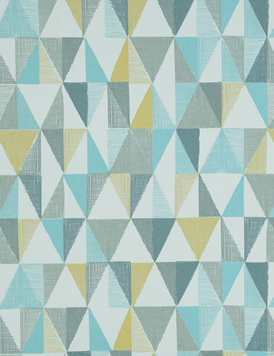 Curtain Textured Geo, Teal | Next Made To Measure