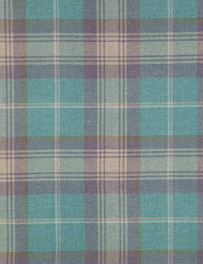 Curtain Details For Woven Check Stirling Aw16 Teal Next
