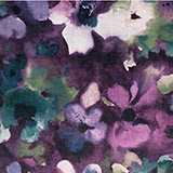 ABSTRACT VELVET FLORAL