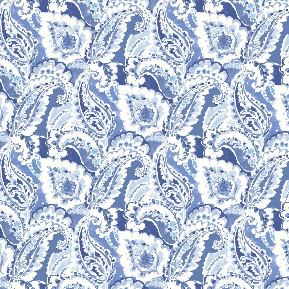 Aretha China Blue