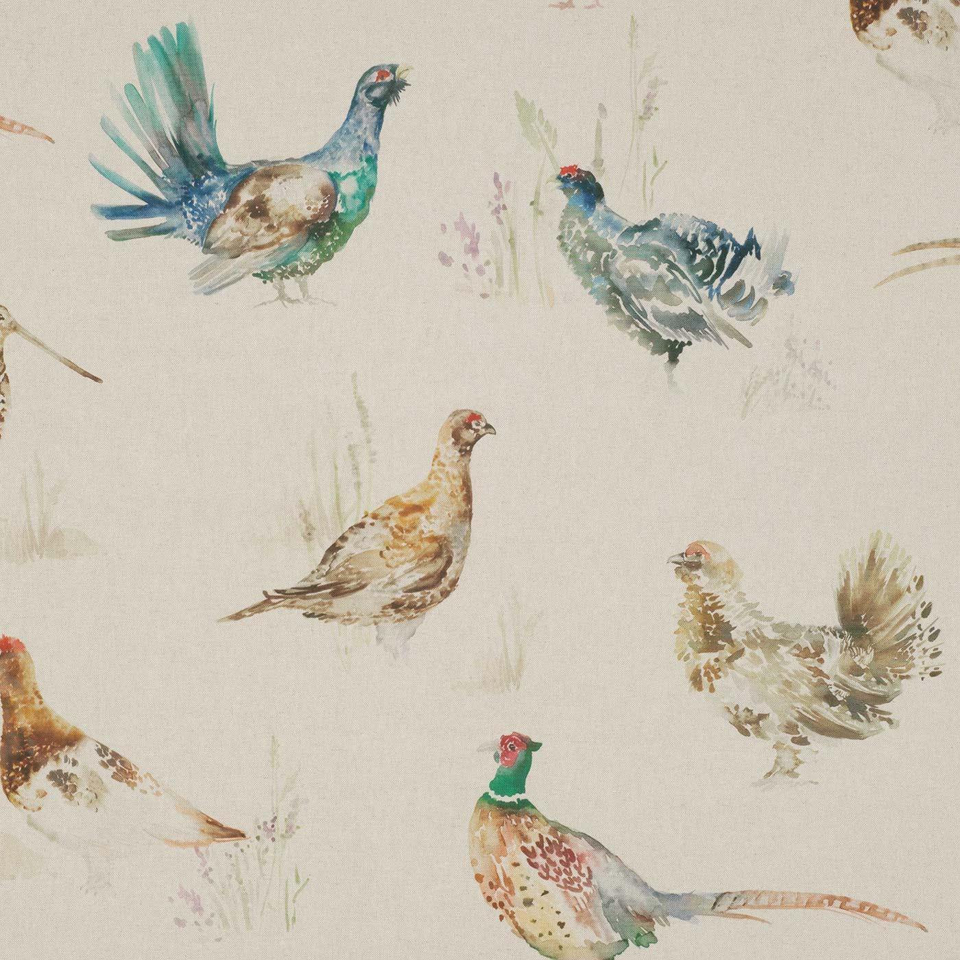 Game Birds Linen
