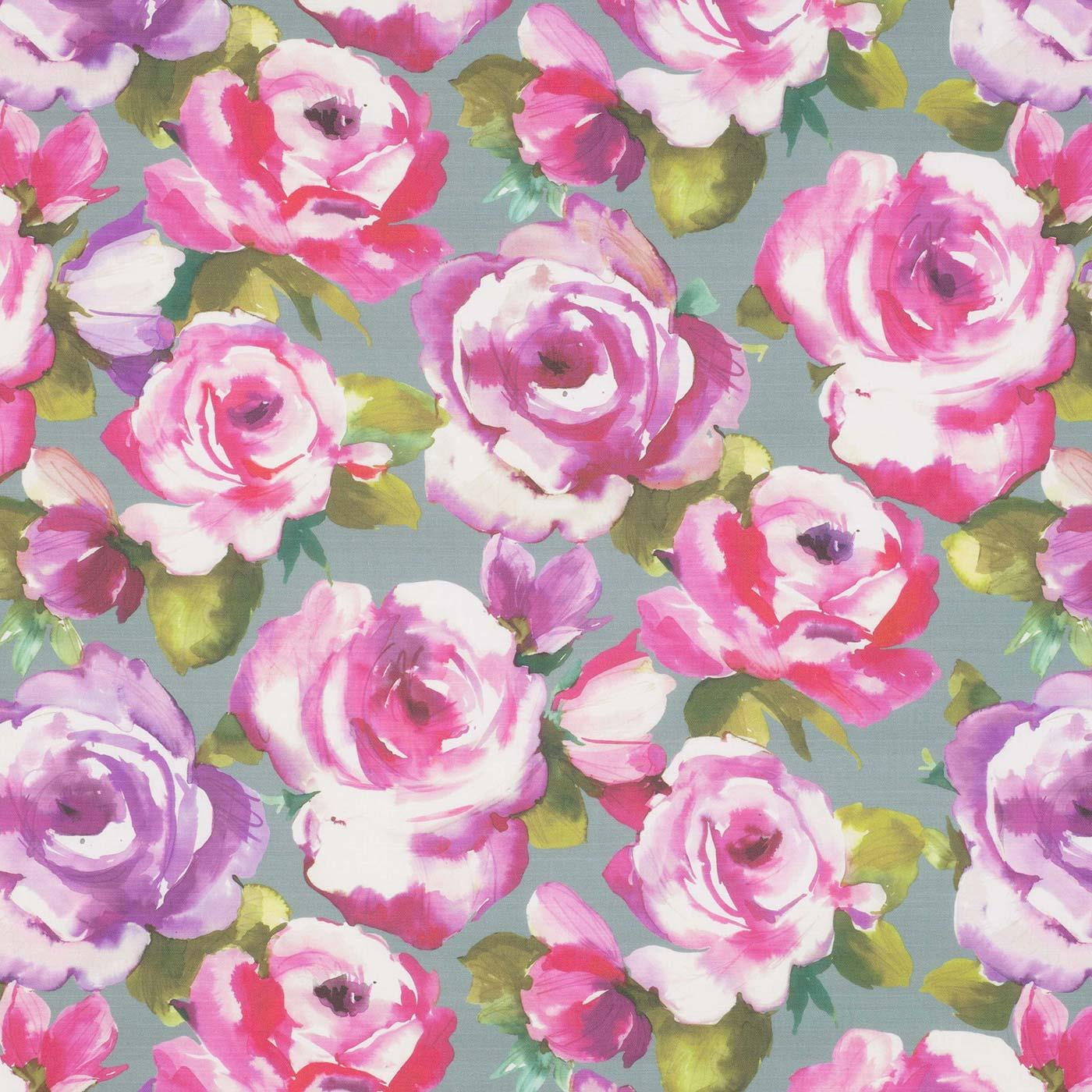 Martha Raspberry Slate