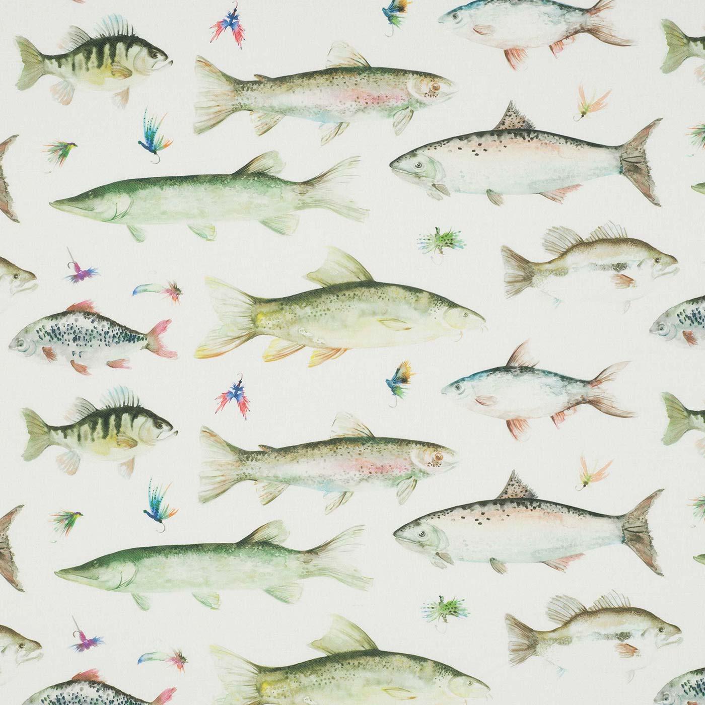 River Fish Large Cream